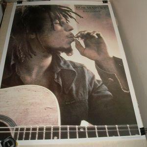Bob Marley Rastaman Old Import Reggae Poster